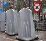 Urinals on the Street (great time saver)