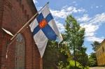 Suomi War Flag